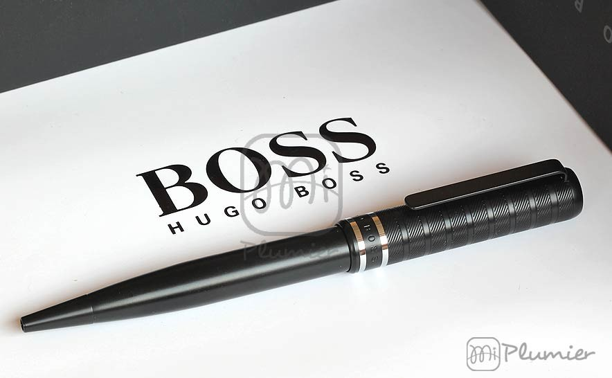 "Bolígrafo Hugo Boss ""Level Structure Black"""