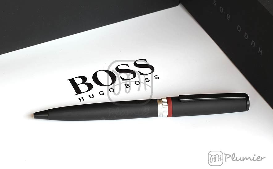 "Bolígrafo Hugo Boss ""Gear Black"""