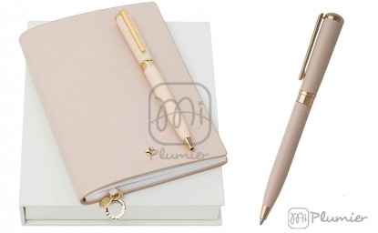 "Set Cacharel ""Beaubourg Light Pink"""