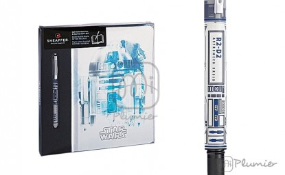 "Set Cuaderno y roller Sheaffer ""Star Wars R2D2"""