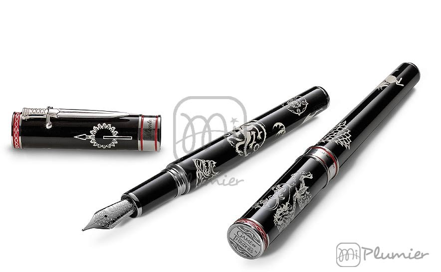 "Pluma estilográfica Montegrappa ""Game of Thrones Westeros"""