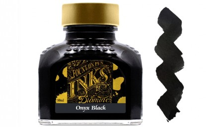 Tintero Diamine Onyx Black 80 ml