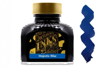Tintero Diamine Majestic Blue 80 ml