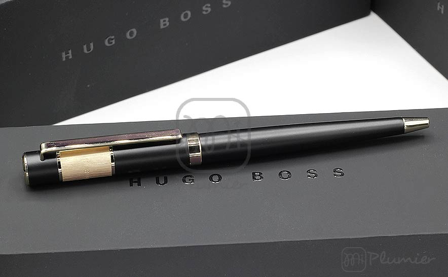 "Bolígrafo Hugo Boss ""Ribbon Vivid Black"""